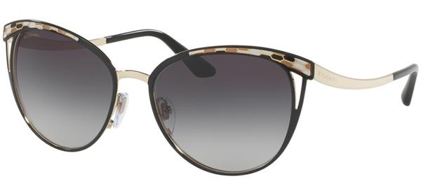 78518d62a8 Gafas de Sol - Bvlgari - BV6083 - 20188G BLACK PALE GOLD // GREY GRADIENT