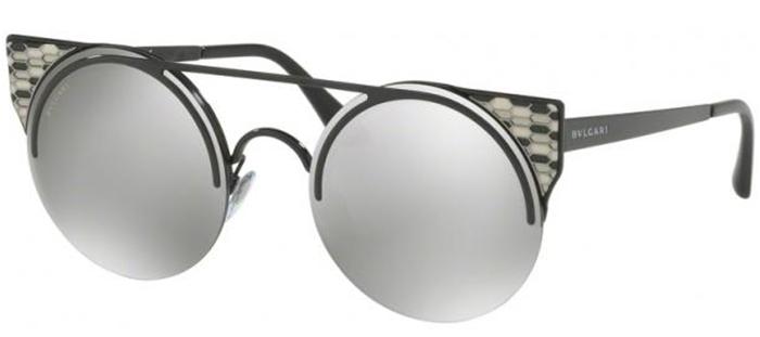 b698917182 Gafas de Sol Bvlgari BV6088 SERPENTEYES 239/6G BLACK // LIGHT GREY ...