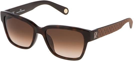 0c67d6804a7d2 Gafas de Sol - Carolina Herrera - SHE645 - 09XK SHINY DARK HAVANA    BROWN