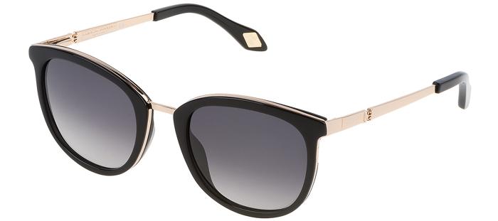 01fdb0085b439 Gafas de Sol - Carolina Herrera New York - SHN032M - 300F NEGRO DORADO