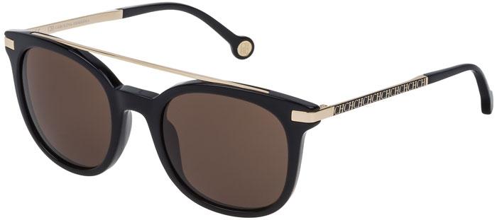 d4910d0316 Gafas de Sol - Carolina Herrera - SHE690 - 0700 BLACK // BROWN