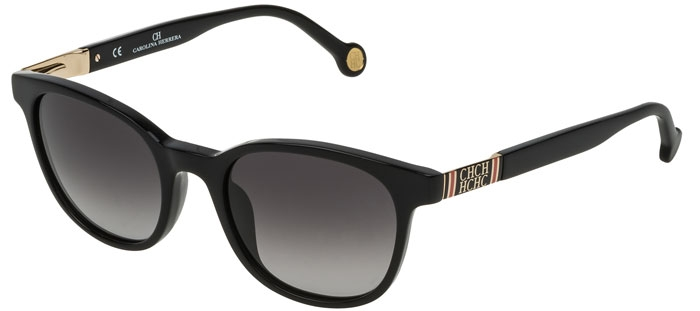 0700 Black Gafas Carolina Gradient Grey Sol De Herrera She693 Iyb76fYgv