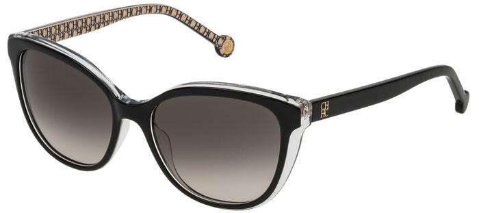 ccae26e32a Gafas de Sol - Carolina Herrera - SHE694 - 0Z32 BLACK CRYSTAL // GREEN  GRADIENT