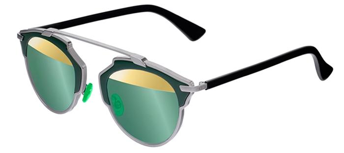 ba47c7ca59 Gafas de Sol - Dior - DIORSOREAL - I1A (82) DARK RUTHENIUM DARK GREEN