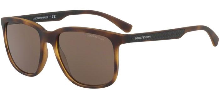abcaae79b32 Sunglasses Emporio Armani EA4104 559473 HAVANA RUBBER    BROWN