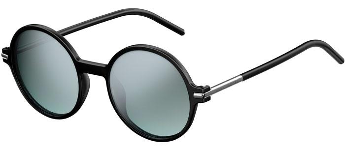 Sunglasses Marc Jacobs MARC 48 S D28 (GY) SHINY BLACK    GREY GREEN ... 1d901ee31ec2