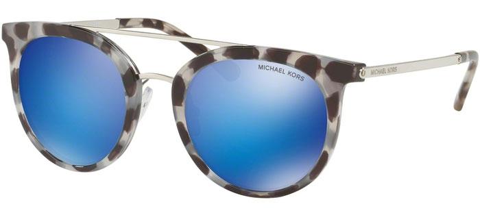 e6e1b6fa42a Sunglasses - Michael Kors - MK2056 ILA - 327525 SNOW LEOPARD    BLUE MIRROR