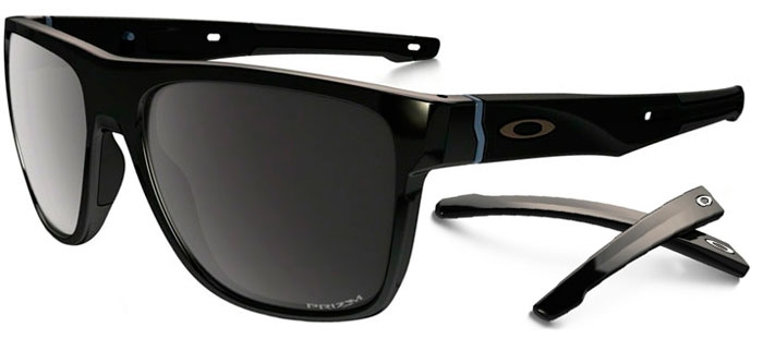 5f8e7f0e5db Sunglasses - Oakley - CROSSRANGE XL OO9360 - 9360-07 POLISHED BLACK    PRIZM