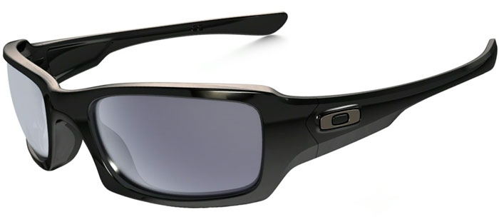 433df284723 Sunglasses - Oakley - FIVES SQUARED OO9238 - 9238-04 POLISHED BLACK    GREY
