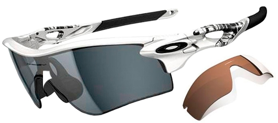 oakley radarlock path black iridium