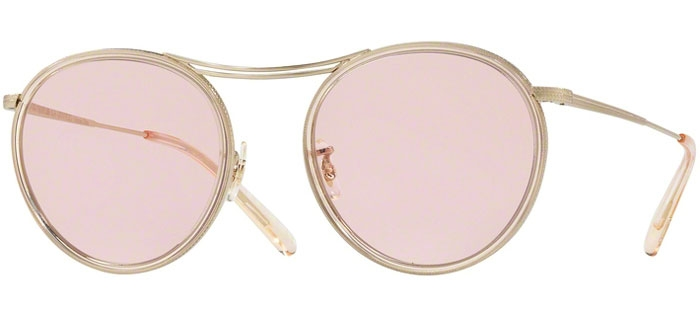 Gold Ov1219s Brushed Sunglasses Mp3 Oliver Peoples 30th 52364q 088wFPxZ