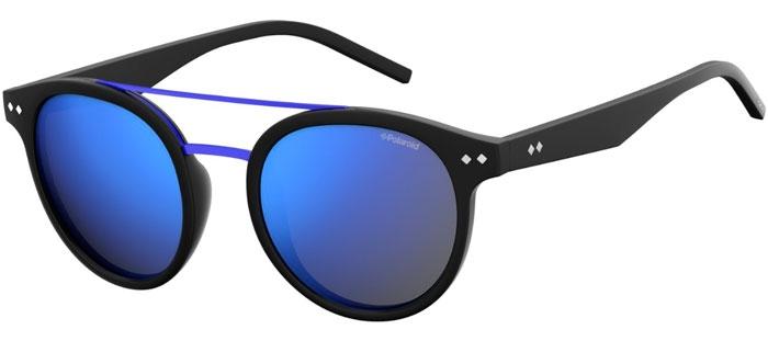 dacc9ca7d46ad MATTE BLACK    GREY BLUE MIRROR POLARIZED. Gafas de Sol - Polaroid - PLD  6031 S - 003 (5X) MATTE