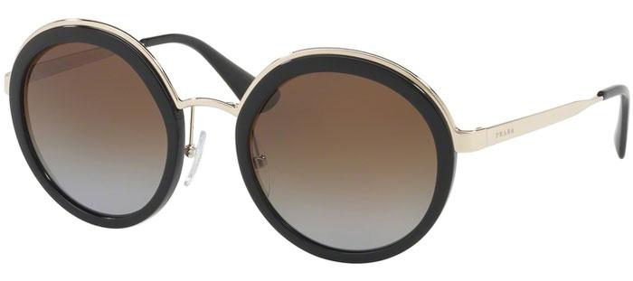 fe1c13d86c Gafas de Sol - Prada - SPR 50TS - 1AB6E1 BLACK // LIGHT GREY DARK.  Polarizada