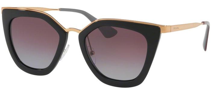 5b3da8eea0 Gafas de Sol - Prada - SPR 53SS - 1AB2A0 BLACK // GREY VIOLET POLARIZED.  Polarizada