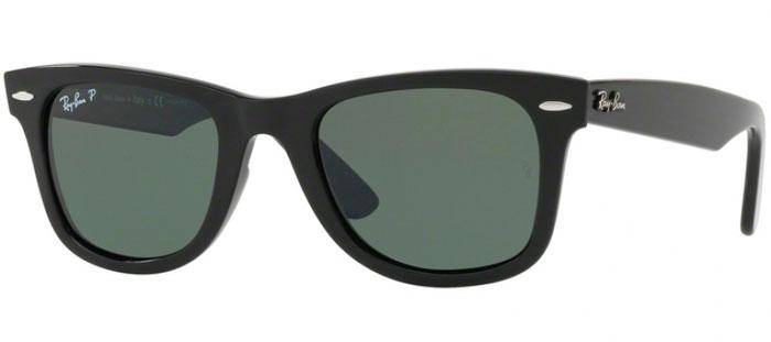 Gafas de Sol RayBan RB4340 WAYFARER 601 58 BLACK    GREEN POLARIZED 8eb9192673