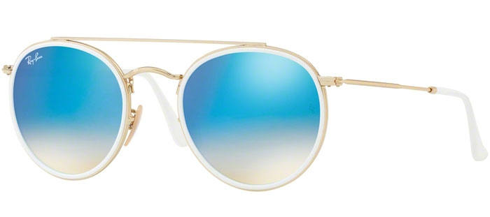 b8c7d80f47 GOLD // GRADIENT BROWN MIRROR BLUE. Gafas de Sol - Ray-Ban® - Ray-Ban®  RB3647N - 001
