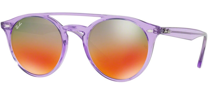 Gafas de Sol RayBan RB4279 6280A8 VIOLET    LIGHT BROWN MIRROR RED ... a3810f1cdab2