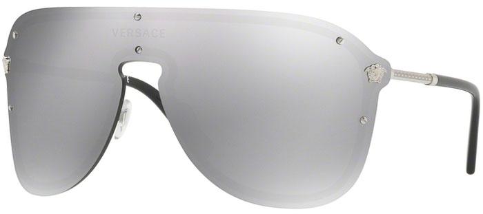 Gafas de Sol - Versace - VE2180 - 10006G SILVER    LIGHT GREY MIRROR SILVER 63714b18b010
