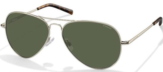 Sunglasses Polaroid PLD 1017 S 3YG (H8) LIGHT GOLD    GREEN POLARIZED 185fdde7a907