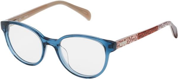4b29dafa82 Monturas - Tous - VTO931 - 0T90 TRANSPARENT BLUE