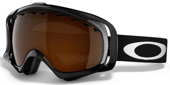 57d165d59a413 CROWBAR OO7005 - 02-849. JET BLACK    BLACK IRIDIUM. Goggles Snow ...