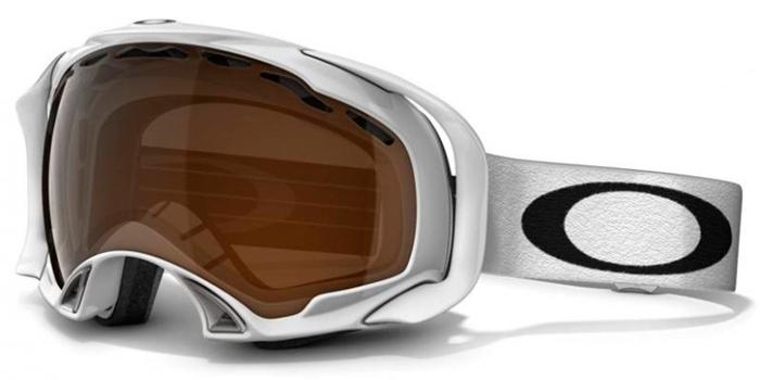 Ski Polished White Máscaras Black Splice 247 Oakley Oo7022 57 Iridium AR5cjLq34S