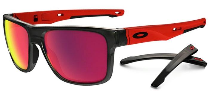 Sunglasses - Oakley - CROSSRANGE OO9361 - 9361-05 BLACK INK    PRIZM ROAD 885d228d34